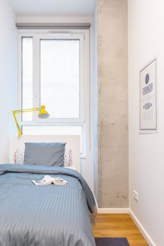 LivinnX Kraków – 2 – person unit Bedroom 2